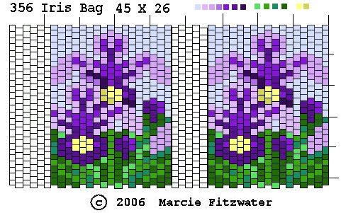 FREE BEADING PATTERNS - Amulet Bags