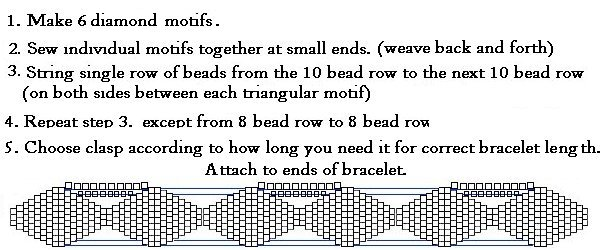 Diamond Bracelet Instructions 2